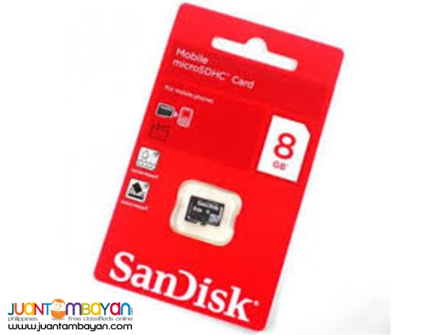Sandisk 8GB MICRO SD