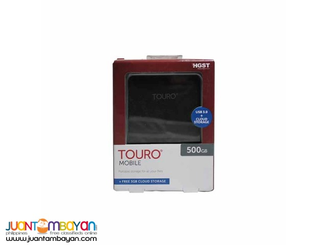 HITACHI 500GB TOURO MX3 USB 3.0 BLACK