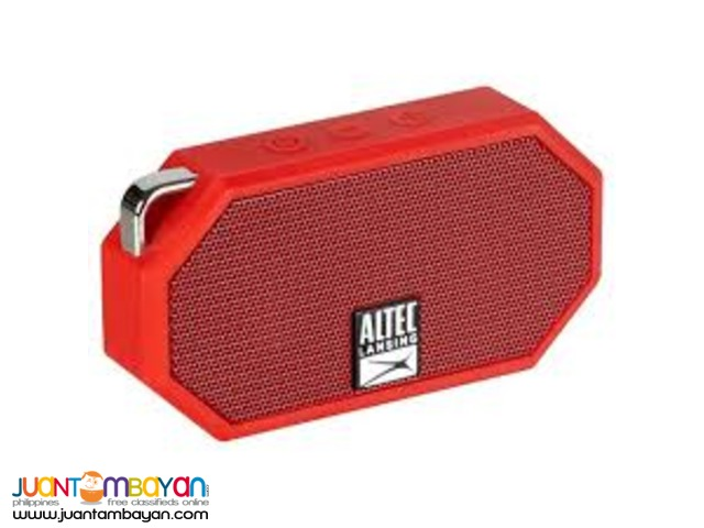Altec LANSING MINI H2O SPEAKER (RED)