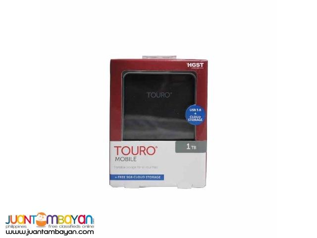 HITACHI 1TB TOURO MX3 USB 3.0 BLACK