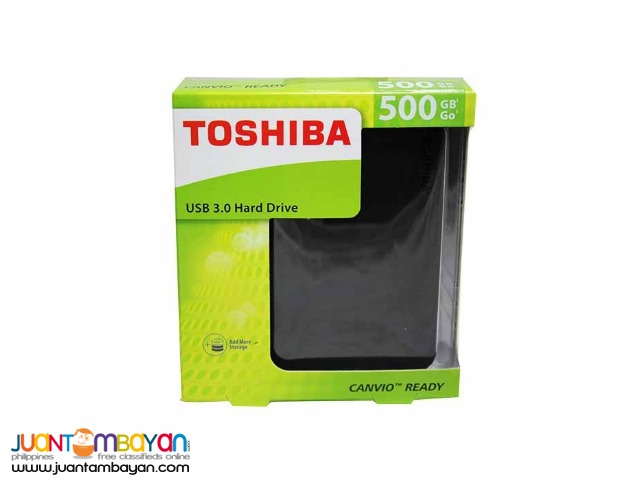 TOSHIBA CANVIO CONNECT 500GB EXTERNAL 3.0