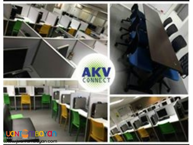 AKV CONNECT/ BPO Seat Lease