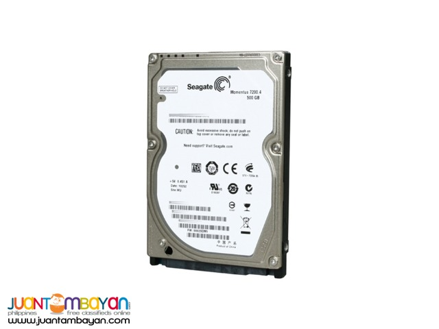 SEAGATE 500GB 7200 SATA HDD