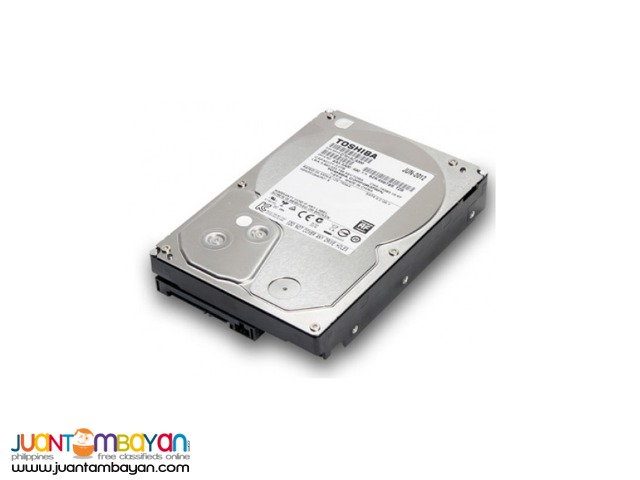 TOSHIBA 500GB 7200 SATA3 HDD
