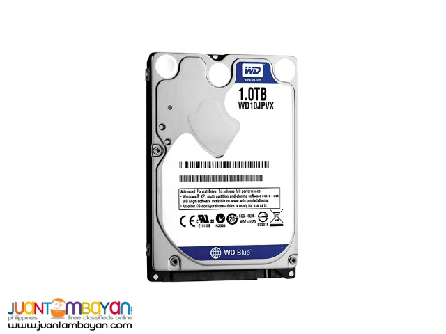 WESTERN DIGITAL 1TB SATA BLUE