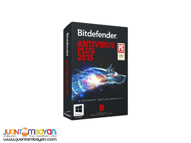 BITDEFENDER ANTIVIRUS PLUS 2015 (3 PC)