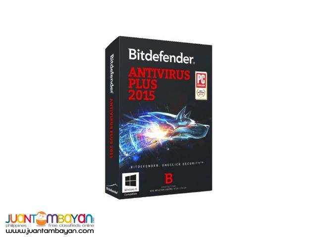 BITDEFENDER ANTIVIRUS PLUS 2015 (3 PC)