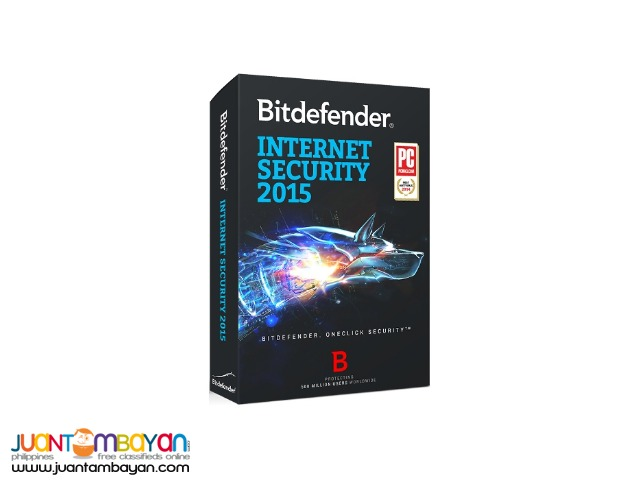BITDEFENDER INTERNET SECURITY 2015 (1 PC)