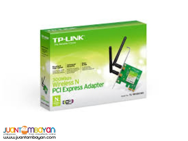 TP-LINK TL-WN851N WIRELESS N PCI