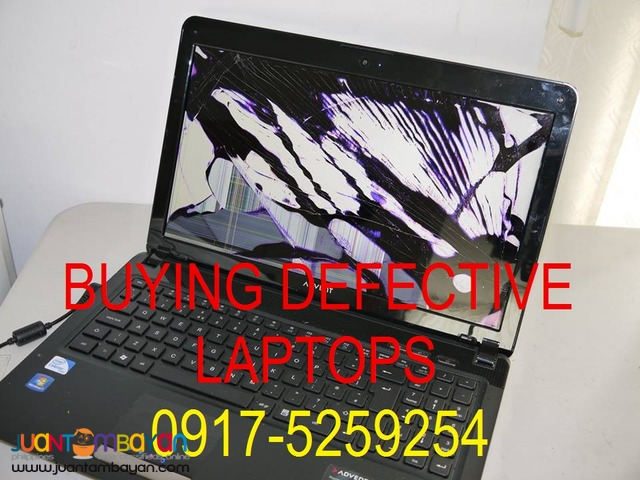 BUYING DEFECTIVE LAPTOP