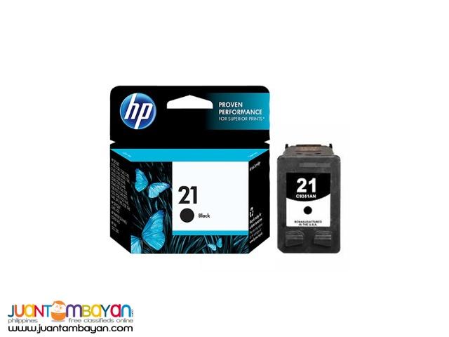 HP #21 C9351 BLACK INK