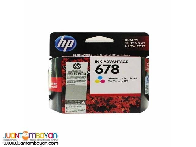 HP 678 CZ108AA COLOR