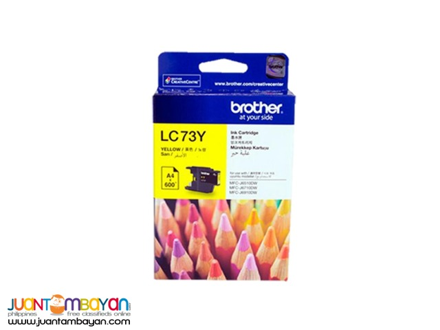 BROTHER INK LC73 YELLOW