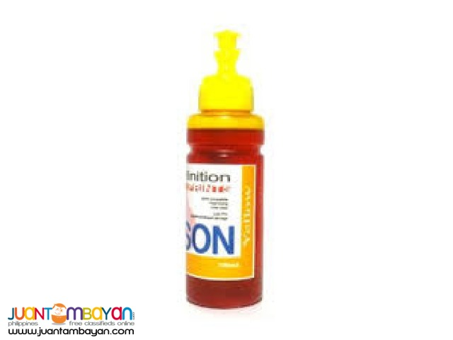 EPSON YELLOW 100ML PIGMENT INK