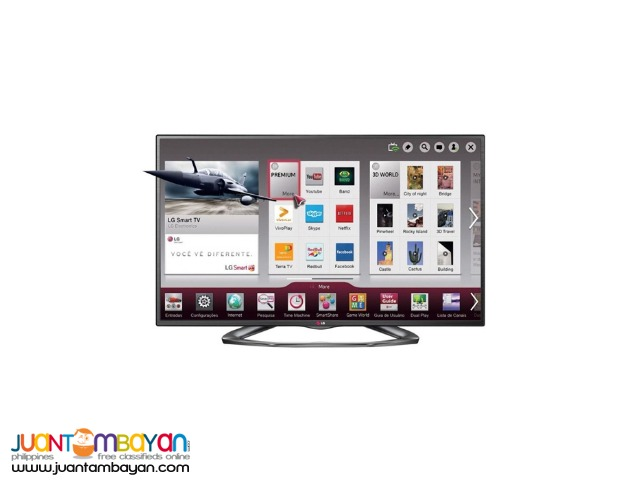 LG SMART 3D FLAT LED TV(60LA6200)