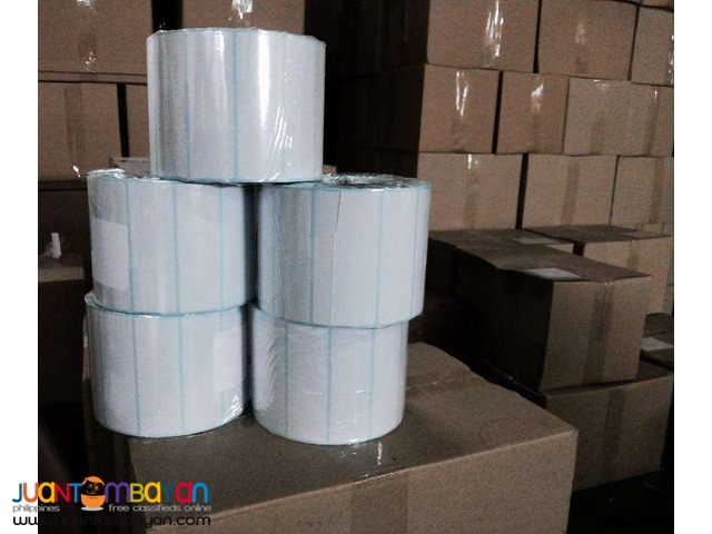 30 x 20 Satin Barcode Labels, Barcode Sticker (10,000 Psc / Roll)