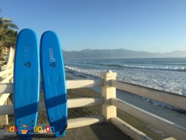 Big Waves, Baler Tour Package
