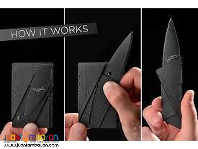 Credit Card Foldable Knife Card Sharp