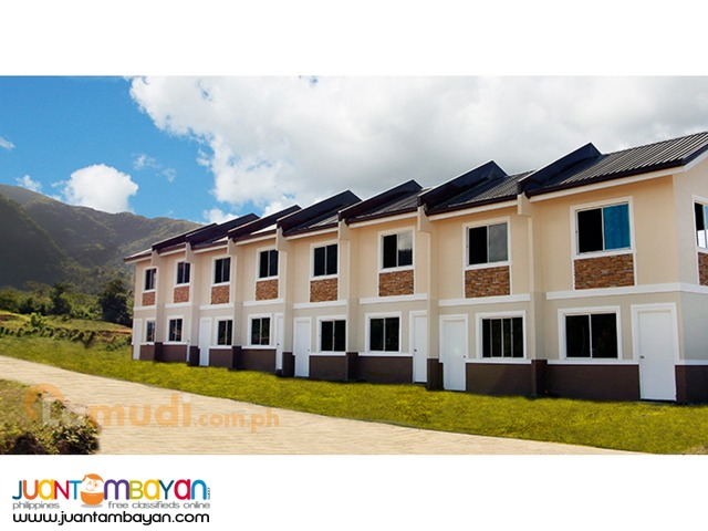 Affordable House and Lot Santorini Estates Jasmine townhouse