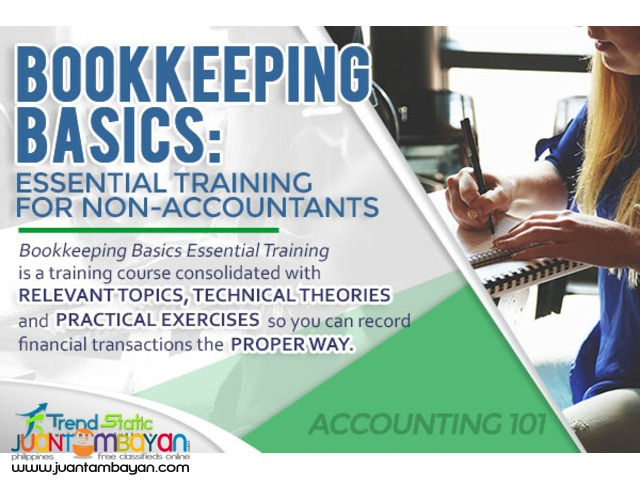 Bookkeeping Basics: Essential Training for Non-Accountants