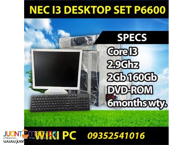 NEC i3 - i5 Laptop