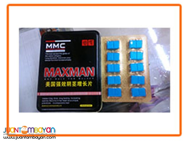 Maxman Blue Tablet for Men
