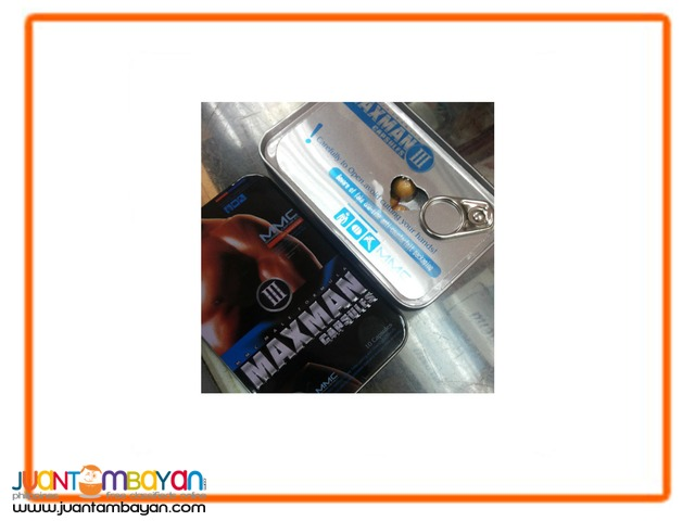 Maxman 3 Pills for men