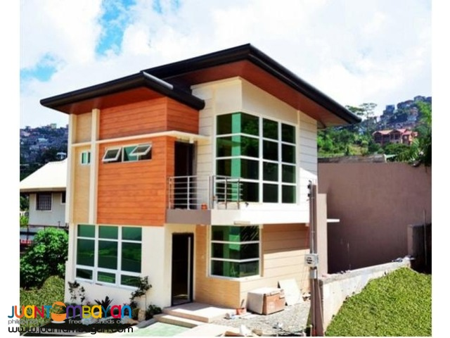 House and Lot in San Luis Baguio City near Coyeesan and Puregold