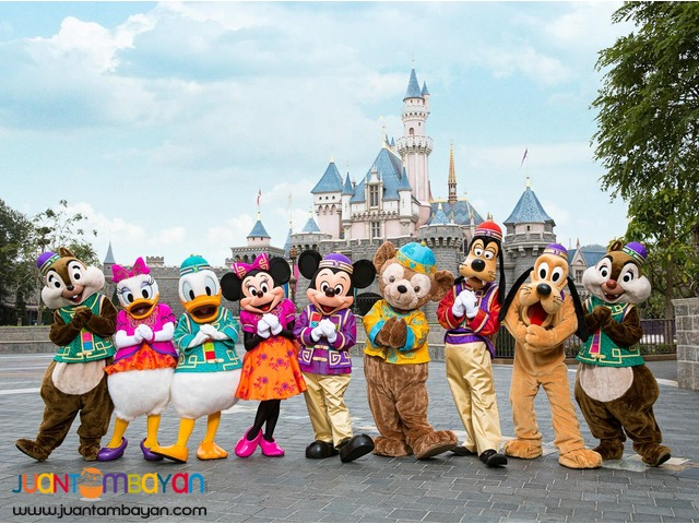 3d2n/4d3n Hongkong with free disneyland tour (land arrangement only)