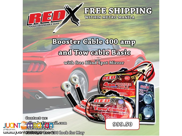 Red x Items Free shipping