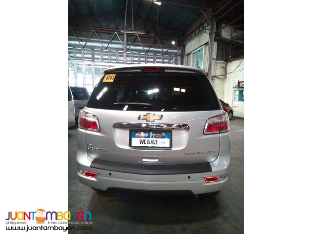 RENT A CAR CHEVROLET TRAILBLAZER SILVER