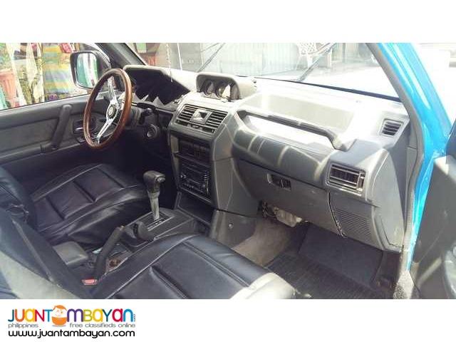 Mitsubishi Pajero 2005 turbo diesel 4x4