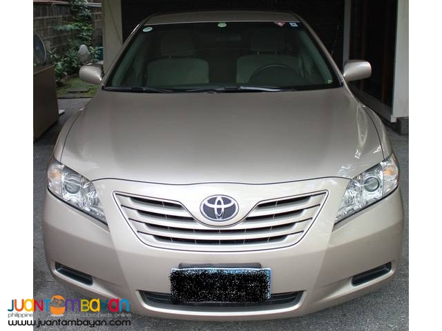 2007 Camry LE 3.5 DIPLOMATIC, North American model