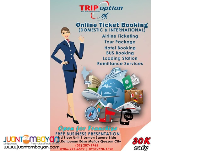 24/7 Online Ticketing Business