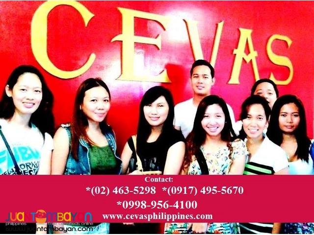 CEVAS TOEFL Review Center in Calamba Sta Rosa Biñan Laguna Batangas