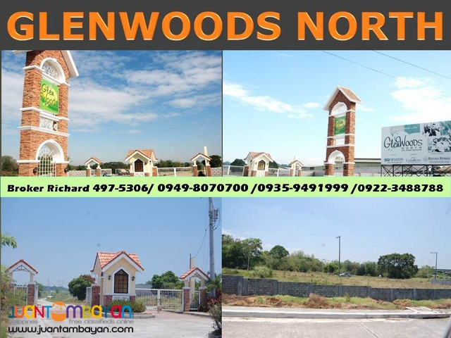 Glenwoods North Sta Maria Bulacan Lots = 5,300/sqm