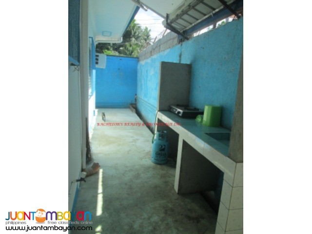 House Bungalow 1-Storey Semi-Furnished for rent in Talisay at P24K