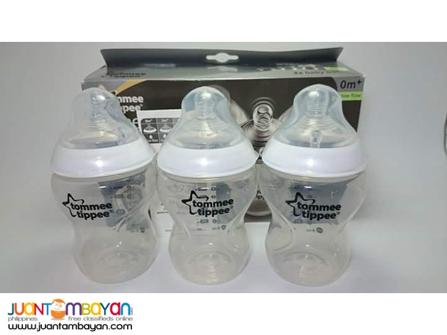 Tommee Tippee Closer to Nature Feeding bottles 9oz cloudy white