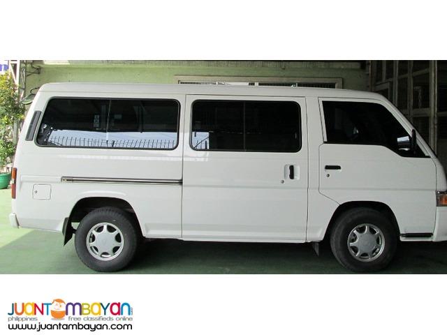 Rent a Car Nissan Urvan