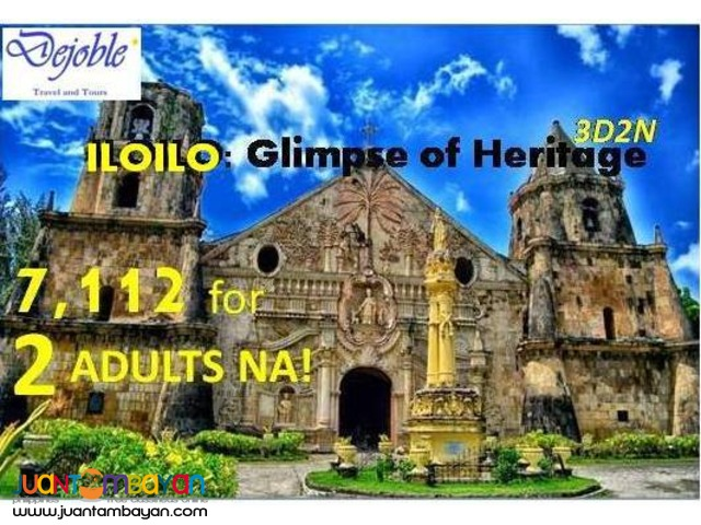 Puerto Princesa Free and Easy Tour Package  4,962 for 2 ADULTS NA!