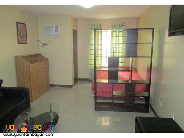 14k Furnished Studio Condo Unit For Rent in Mandaue City Cebu