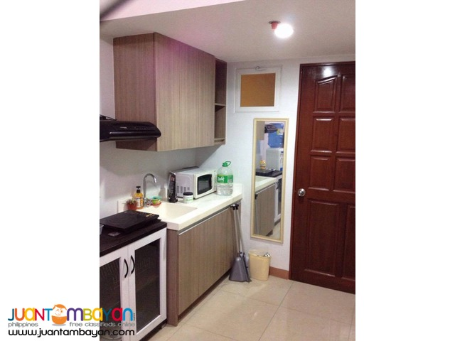 18k Furnished Studio Condo Unit For Rent in Lahug Cebu City