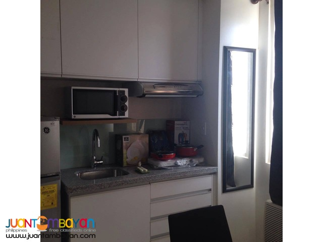 25k For Rent Studio Condo Unit in IT Park Cebu City - Furnished