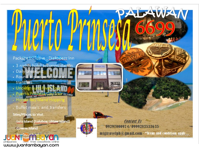 puerto prinsesa palawan tour package 4 days 3nites