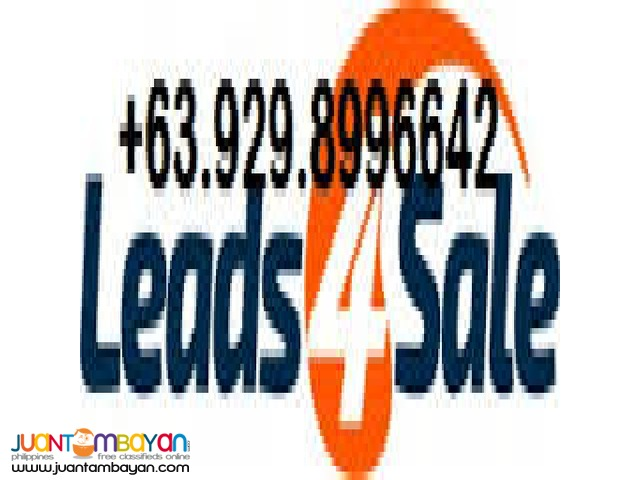 LEADZ4$ALE CALLING ALL TYPES of SALES PERSON.