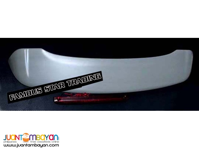 Spoiler for Toyota Avanza 2005-2011