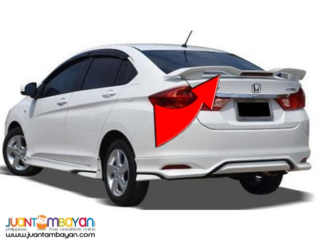 Modulo Spoiler for Honda City 2014-2016