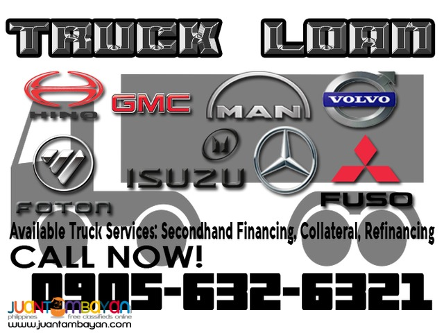 Second hand truck financing, re financing, other loan services