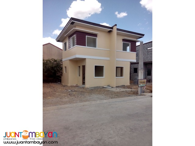 Affordable two storey DUPLEX  HOUSE and LOT thru PAG-IBIG