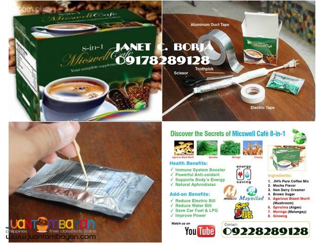 Micswell 8 in 1 Coffee - KURYENTIPID COFFEE